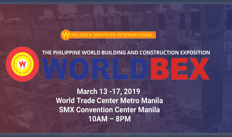 WORLDBEX Expo 13–17 March 2019