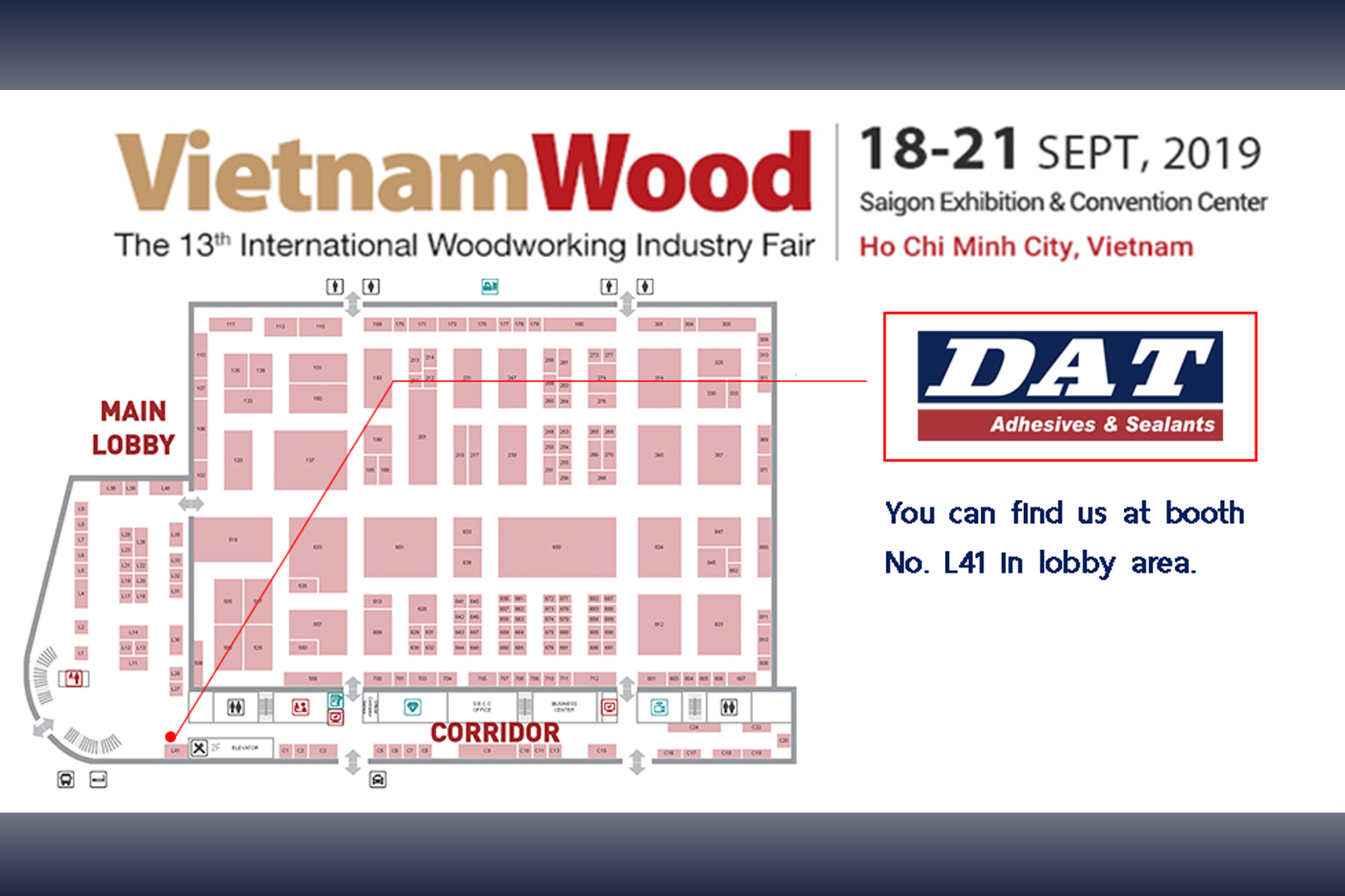 Vietnam Wood 18th – 21st September – SECC, Ho Chi Minh City