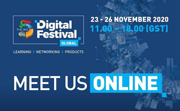 The Big 5 Digital Festival Global Event